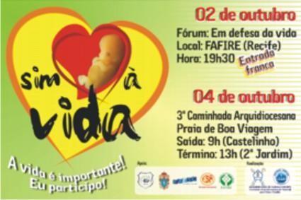 Um convite da Arquidiocese de Olinda e Recife